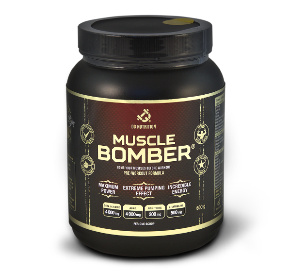 Muscle bomber PRE-WORKOUT FORMULA